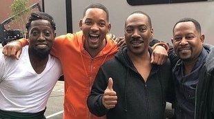 Will Smith visita a Eddie Murphy en el rodaje de 'El príncipe de Zamunda 2'