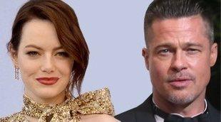 Emma Stone y Brad Pitt en lo nuevo del director de 'La La Land'