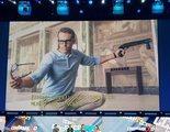 Ryan Reynolds esquiva la caída de una valla de seguridad haciendo gala de unos reflejos de superhéroe
