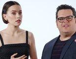 Tom Holland, Josh Gad y medio Hollywood interrogan a Daisy Ridley por spoilers de 'Star Wars'