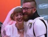 Dos parejas de fans se casan en la premiere de 'Star Wars: El Ascenso de Skywalker'