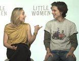 'Mujercitas': Entrevistamos a Saoirse Ronan, Timothée Chalamet y Florence Pugh
