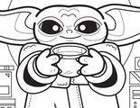 'The Mandalorian': El libro para colorear de Baby Yoda que ya puedes descargarte