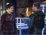 Melissa Benoist (Supergirl) y Grant Gustin (Flash) rinden homenaje a Stephen Amell ante el final de 'Arrow'