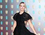 Brad Pitt bromea (a través de Margot Robbie) en su discurso de los BAFTA con el príncipe Harry y el Brexit