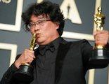 El director de 'Parásitos' pide perdón a los grabadores de los Oscar por ganar demasiadas estatuillas