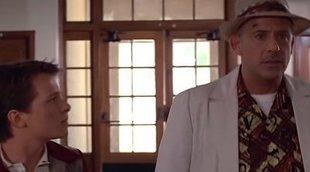 Así sería 'Regreso al Futuro' con Robert Downey Jr. y Tom Holland