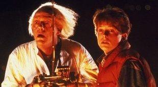 Doc y Marty sorprenden a los fans de 'Regreso al futuro' con una foto juntos