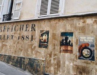 Dos calles de Paris, atrapadas en 1942 por el coronavirus