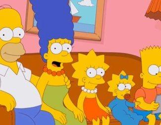 Una familia recrea la cabecera de 'Los Simpson' en plena cuarentena