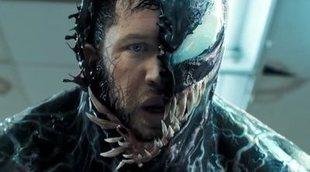 """Tom Hardy comparte cómo es una """"incómoda"""" pelea de 'Venom' antes de añadir los efectos"""
