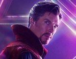 Doctor Strange viste la armadura de Iron Man en esta foto de una escena eliminada de 'Vengadores: Infinity War'