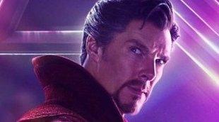 Doctor Strange viste la armadura de Iron Man en esta foto de una escena eliminada de 'Avengers: Infinity War'