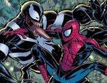 Tom Hardy repite estrategia compartiendo y borrando rápidamente una imagen de Venom y Spider-Man