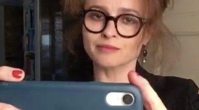 Helena Bonham Carter y Sam Neill ruedan un rarísimo corto en cuarentena