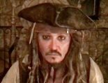 Johnny Depp vuelve a vestirse de Jack Sparrow para hacer una visita virtual a un hospital infantil