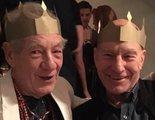 Ian McKellen felicita el 80 cumpleaños a Patrick Stewart con un video encantador