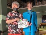 Pedro Almodóvar ya rueda el cortometraje 'La voz humana' con Tilda Swinton