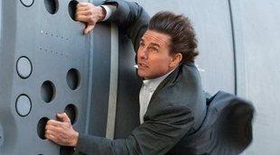 Las impactantes imágenes de 'Misión Imposible 7' rodando una escena de vértigo
