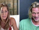 Brad Pitt y Jennifer Aniston se reencuentran (y suben la temperatura) recreando 'Aquel excitante curso'