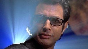 """Jeff Goldblum recrea un """"momento Ian Malcolm"""" de 'Parque Jurásico' con Sam Neill"""