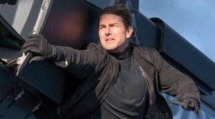 Nuevos vídeos del rodaje de 'Misión Imposible 7', con Tom Cruise en lo alto de un tren en marcha