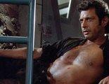 Jeff Goldblum recrea el momento más sexy de 'Parque Jurásico' para animar al voto