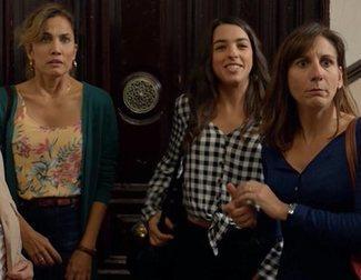 """Malena Alterio ('Señoras del (h)AMPA'): """"No veíamos nada con las caretas"""""""