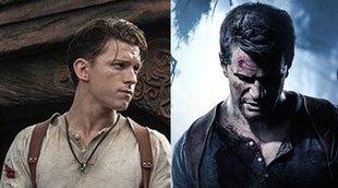 Primera imagen oficial de Tom Holland como Nathan Drake en 'Uncharted'