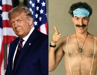 Donald Trump vs. Sacha Baron Cohen: Lo que el presidente piensa de 'Borat 2'