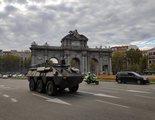 Alejandro Amenábar asusta a los madrileños llenando las calles de tanques en el rodaje de 'La Fortuna'