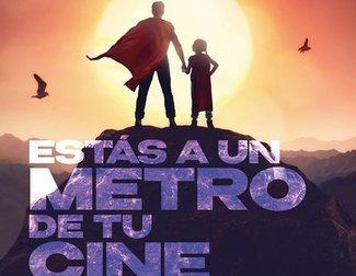 Así es la campaña de Metro de Madrid para animar la asistencia al cine