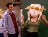 'Friends': Courteney Cox recrea por Acción de Gracias la escena del pavo en la cabeza