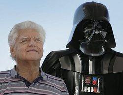 El reparto de 'Star Wars' se despide de David Prowse