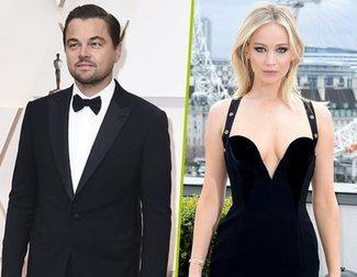 Fotos de Leonardo DiCaprio y Jennifer Lawrence rodando 'Don't Look Up'