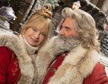 Goldie Hawn cuenta por qué odió besar a su marido, Kurt Russell, en 'Crónicas de Navidad 2'