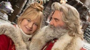 Goldie Hawn odió besar a su marido, Kurt Russell, en 'Crónicas de Navidad 2'