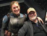 'The Mandalorian': La emoción de Katee Sackhoff ante la visita de su padre al set de rodaje
