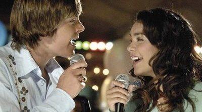 Zac Efron y Vanessa Hudgens no dejaban de pedir un beso en 'High School Musical'