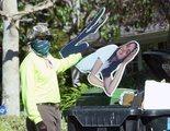 Casey Affleck dice no ser el hombre de la foto que tiraba el cartón de Ana de Armas a la basura