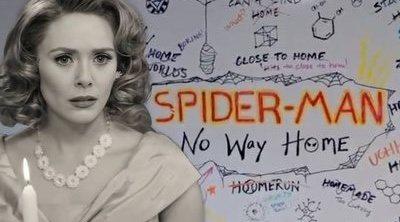 La referencia a 'Bruja Escarlata y Visión' en el anuncio del título de 'Spider-Man 3'