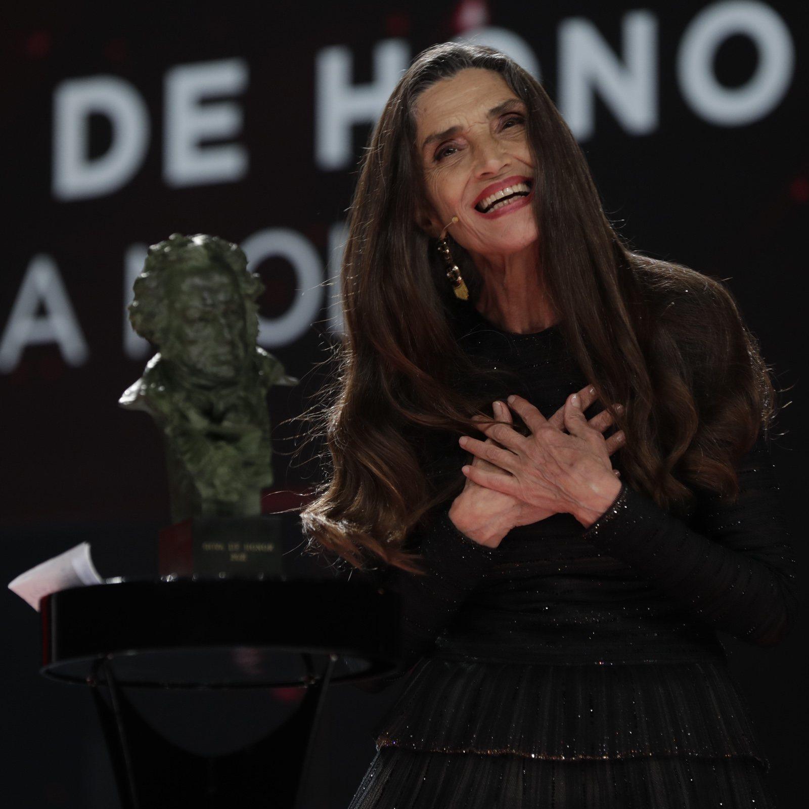 El precioso discurso de Angela Molina, Goya de honor 2021