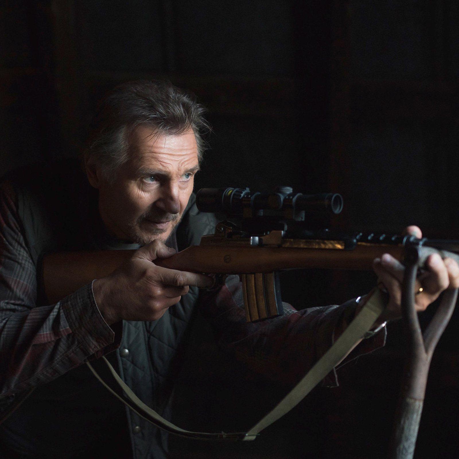 Liam Neeson, anfitrión de su última película en un cine de Nueva York