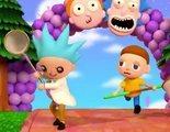'Rick y Morty' viajan al mundo de 'Animal Crossing'