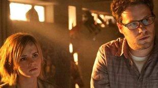 """Seth Rogen explica la """"situación de mierda"""" con Emma Watson en 'Juerga hasta el fin'"""