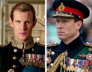 'The Crown': Matt Smith y Tobias Menzies dan el pésame a la casa real británica por la muerte de Felipe de Edimburgo