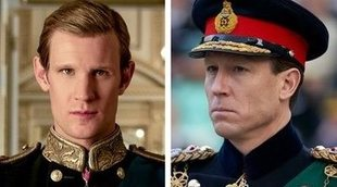 Matt Smith y Tobias Menzies ('The Crown') se despiden de Felipe de Edimburgo