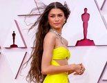 Zendaya fue la única invitada de los Oscar que llevó mascarilla durante toda la gala