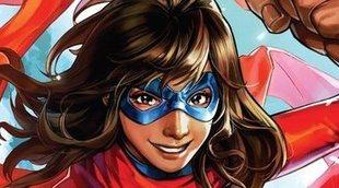 Revelado el traje de 'Ms. Marvel' en las fotos del rodaje