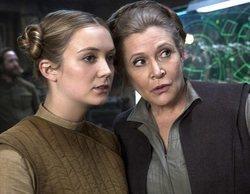 Billie Lourd publica una adorable foto de su bebé viendo a la Princesa Leia